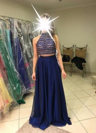 Выпускное вечернее платье sherri hill (оригинал)