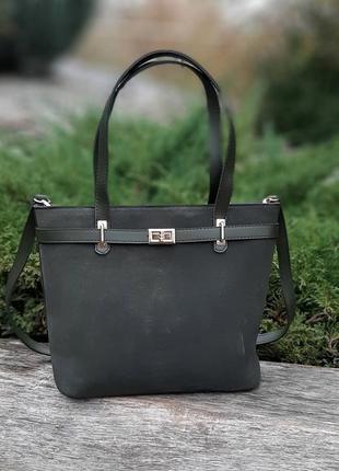 Стильная замшевая женская сумка