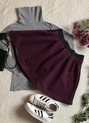 Классная юбка солнце фиолетового цвета