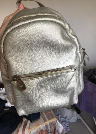 Серебряный рюкзак parfois
