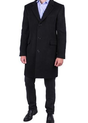 Классное мужское классическое пальто reiss шерсть