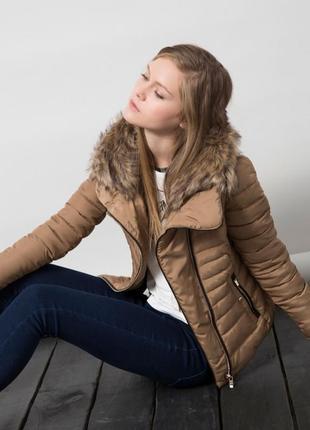 Зимняя куртка bershka