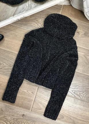 Крутой теплый свитер с люрексом missguided