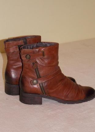 """Р.41 """"marco tozzi"""" натуральная кожа сапоги/ботинки утеплены флисс, стелька 27см"""