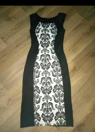 Красивое стильное нарядное платье