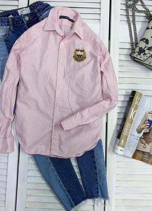 Базова сорочка в дрібну смужку
