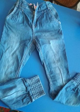 Тонкие джинсики