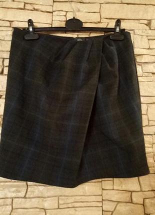 Скидка!дешево!юбка-карандаш,имитация запаха