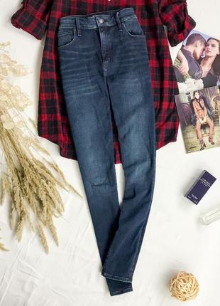 Комфортные джинсы с высокой посадкой  pn1946018  abercrombie & fitch