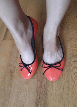 Centro лаковые туфли балетки 38 размер
