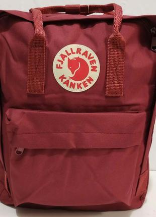 Тканевый рюкзак kanken (бордовый) 19-11-032