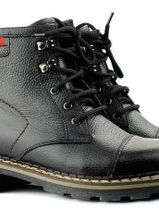 Мужские ботинки черные stepter