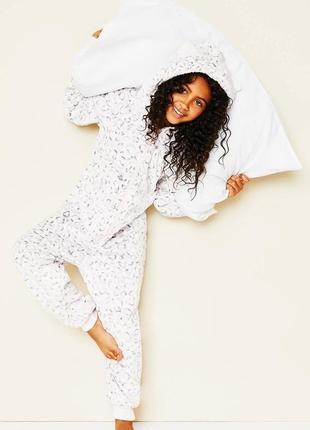 Плюшевый человечек слип пижама кигуруми