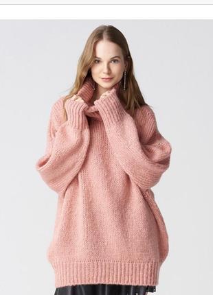 Розовый свитер dilvin