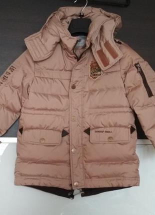 Пуховик парка зимняя куртка snow doll