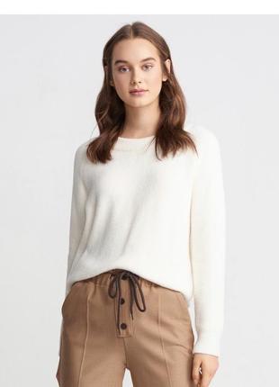 Белый свитер dilvin