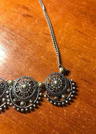 Ожерелье монетки