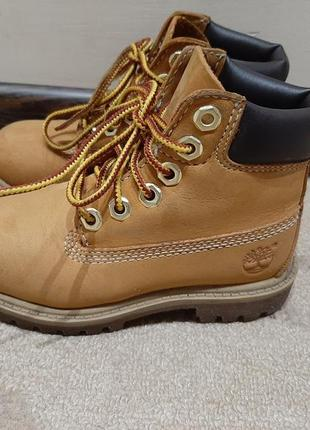 Детские сапожки ботинки timberland 15.5 см стелька