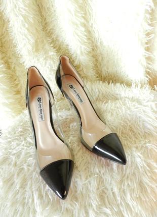 ⛔✅ красивые лодочки туфли прозрачные