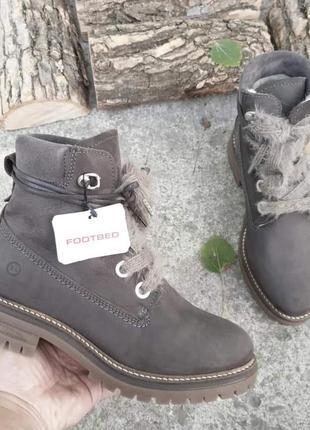 41 зима  немецкие ботинки с овчиной