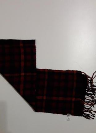 Фирменный мягкий теплый шарф