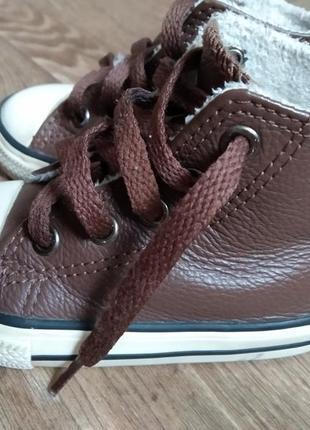 Конверсы 21 размер кроссовки кеды