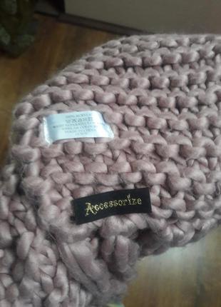 Модний шарф accessorize3 фото