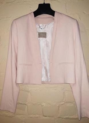 Пиджак пудрового цвета orsay