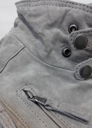 Куртка замшева  нова + бонус