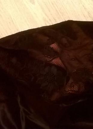 Костюм атласная юбка и топ