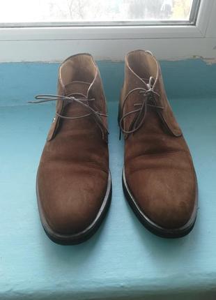 Мужские осенние ботинки mersedes benz