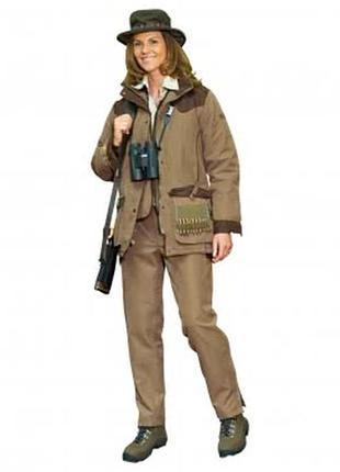 Куртка мембранная рercussion rambouillet (франция), женская,охота.
