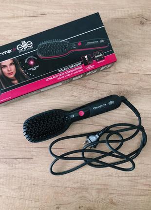 Расческа-выпрямитель для волос rowenta instant straight