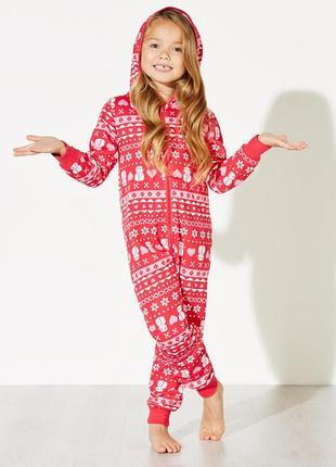 Пижама на байке. кигуруми. слип. тёплая пижама. размер оверсайз 11/12/13 лет