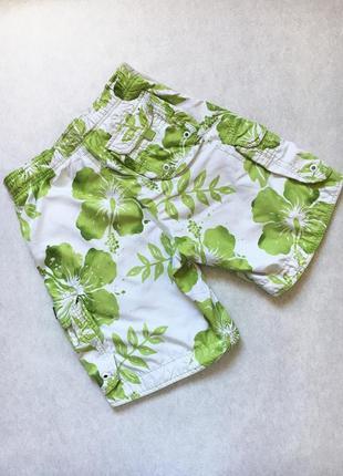 Шорты гавайские купальные пляжные abercrombie & fitch