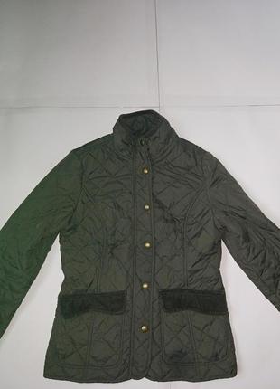 Стеганая деми куртка,ветровка,р-р 10,идет на s- неполную m,joules