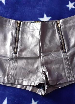 Кожаные шорты international