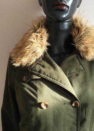 Утепленное пальто the north face