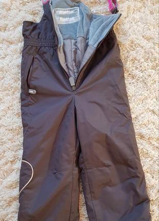Зимние штаны от комбинезона lenne 104 р.