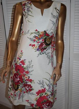 Льняное платье sweet miss