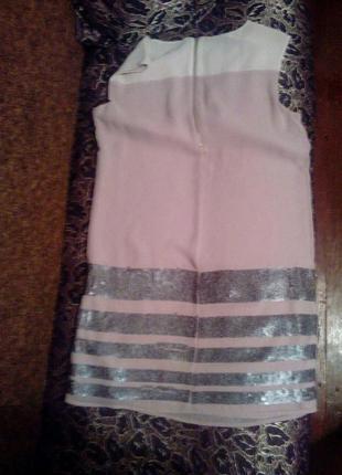 Платье с паетками5