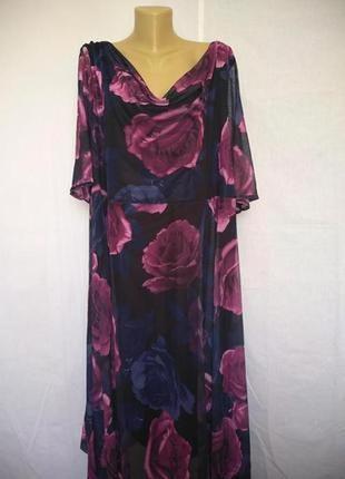 Yours london шикарное стильное платье большой размер