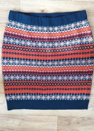 Классная юбка с орнаментами