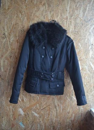 Куртка под пояс пух-перо(s/m)