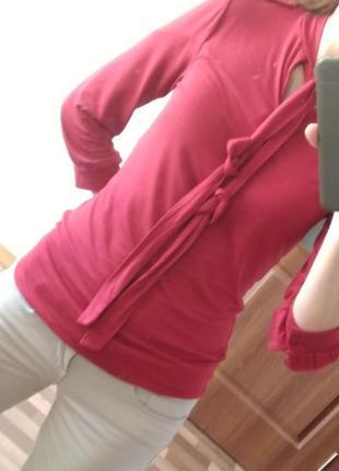 Блуза. реглан. вискоза xs-m