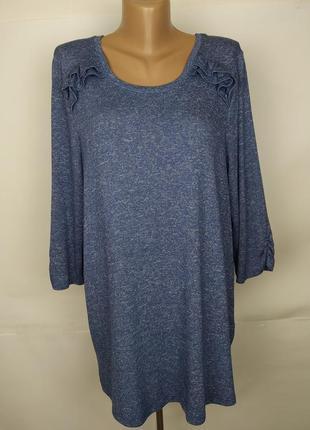 Платье туника стильное трикотажное большого размера m&co uk 18/46/xxl