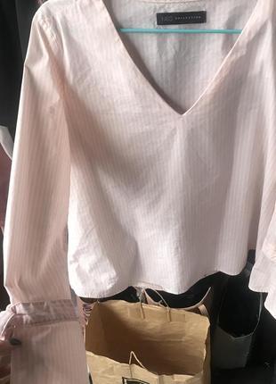 Блузка нежная в полоску 😂