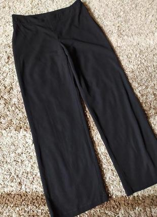 Итальянские брюки клёш высокая посадка осенние зимние  90%шерсть вержини бренд