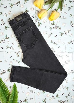 Фирменные плотные узкие зауженные высокие джинсы скинни river island, размер 42 - 44