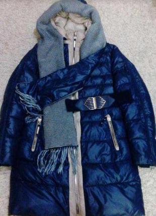 Зимовий пуховик куртка ikaus